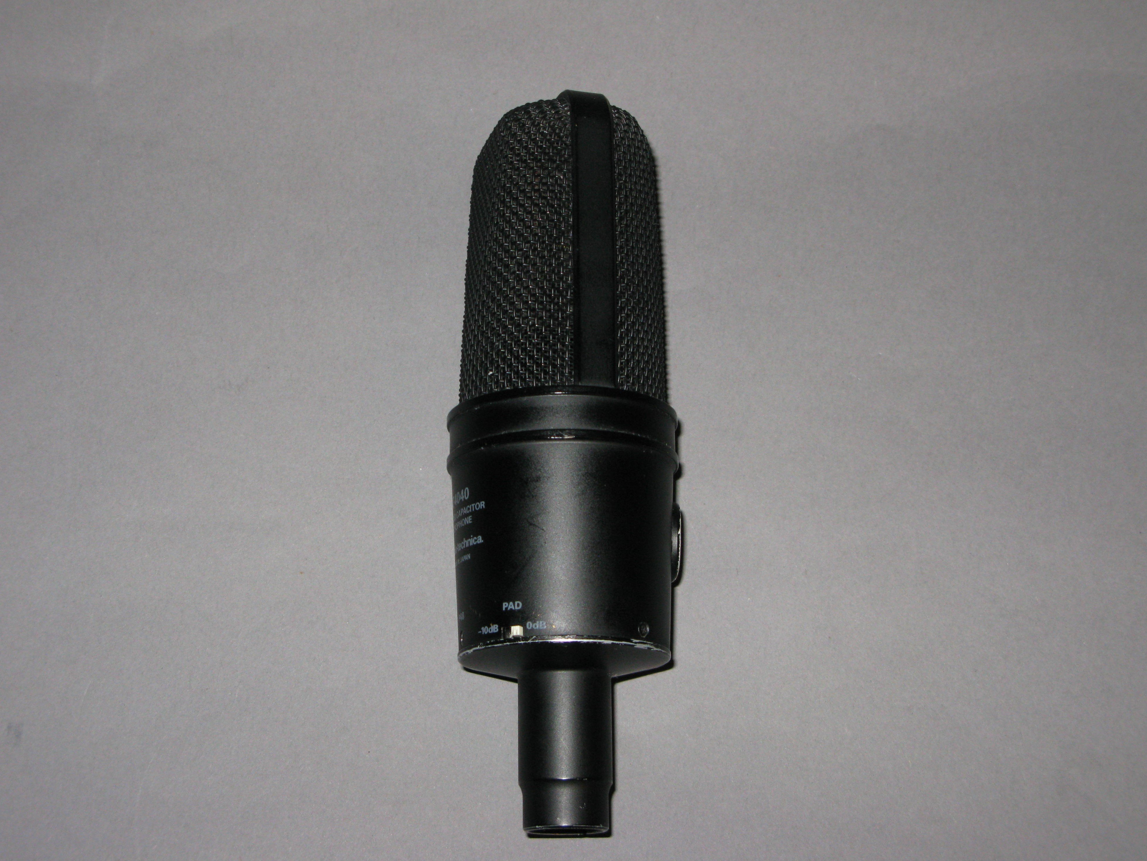 Audio-Technica AT4040 Cardioid Condenser Microphone ...