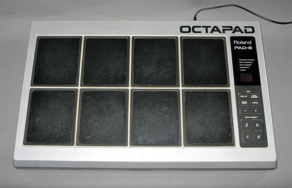 roland octapad pad 8 vintage midi drum controller. Black Bedroom Furniture Sets. Home Design Ideas