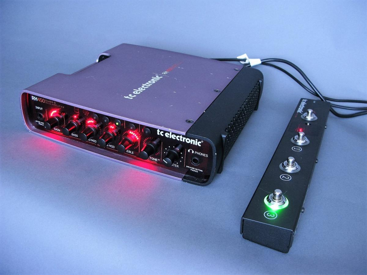 tc electronic bass guitar amp rh450 rc4 electric denim studios. Black Bedroom Furniture Sets. Home Design Ideas