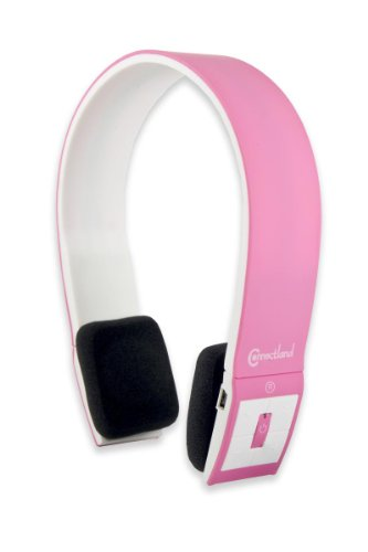 Connectland-CL-AUD23031-Universal-Wireless-Bluetooth-V40-EDR-norm-Sport-Band-Headphone-Pink-0