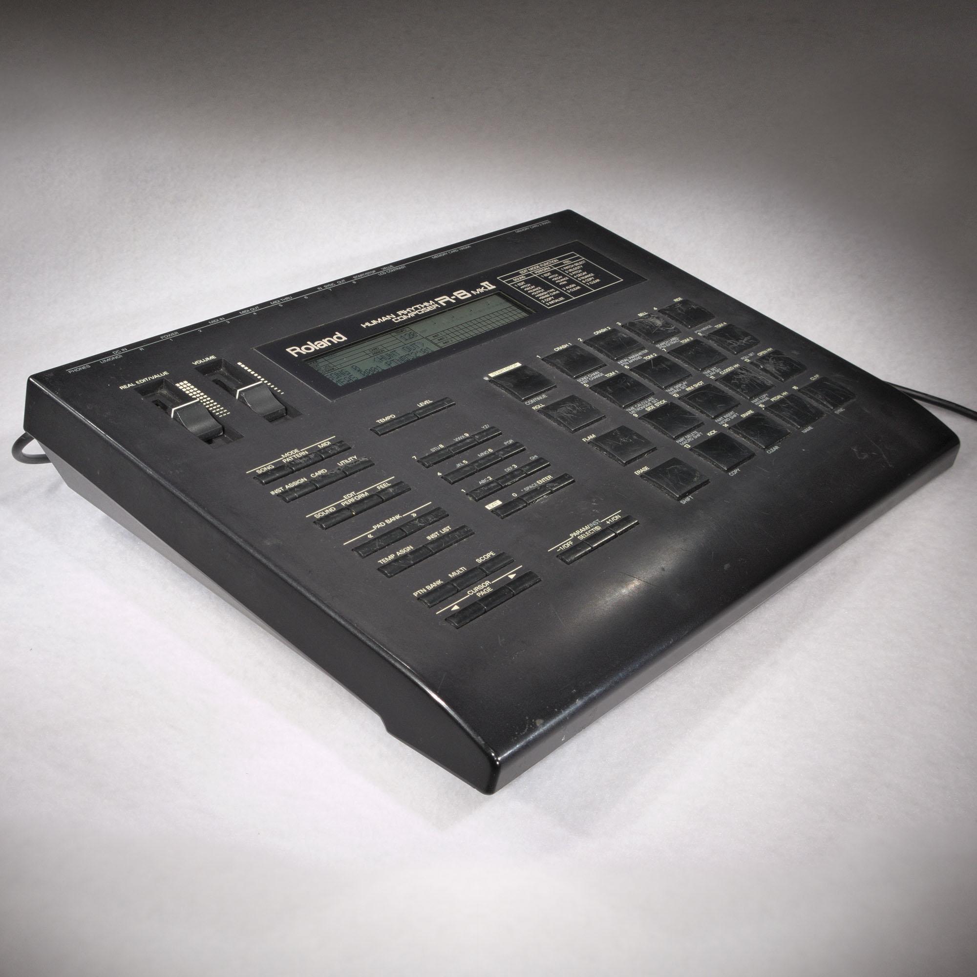 roland r8 mkii drum machine human rhythm composer