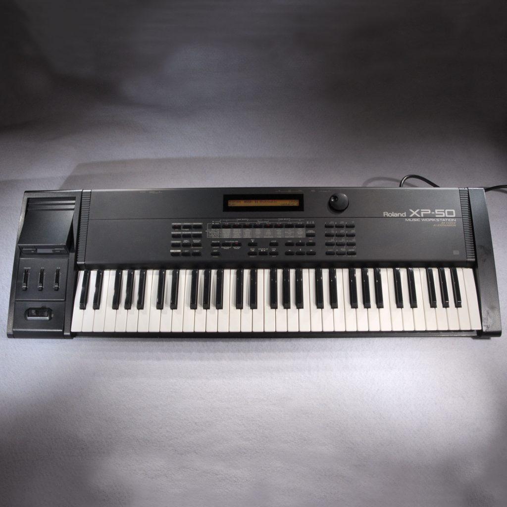 roland xp50 synthesizer keyboard workstation xp 50. Black Bedroom Furniture Sets. Home Design Ideas