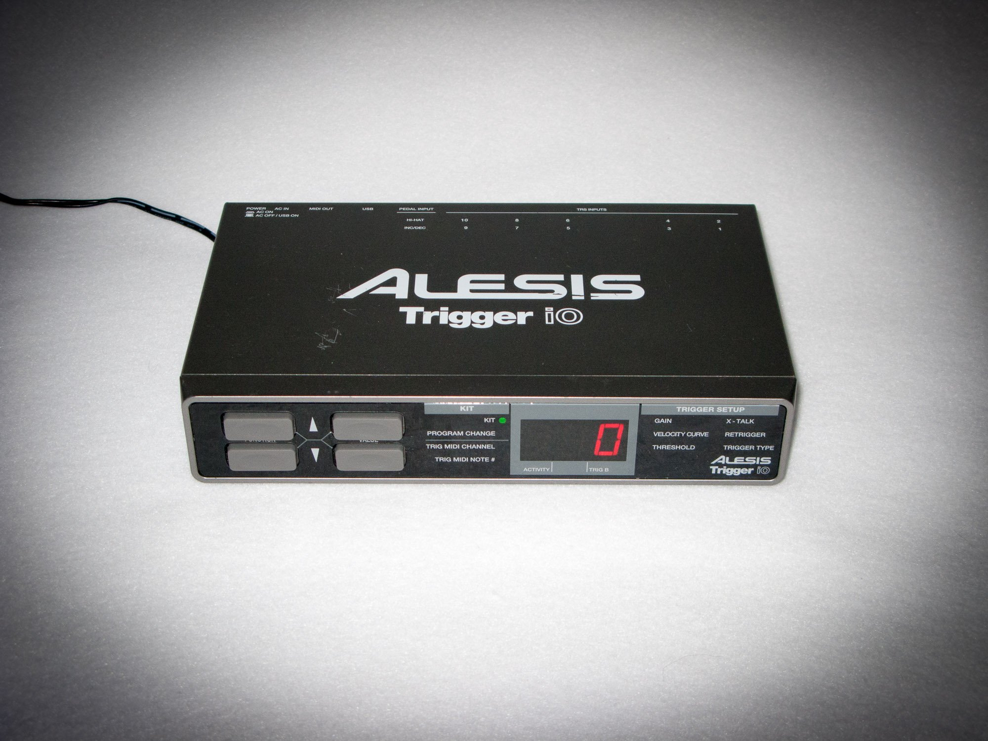 alesis trigger io electronic drum trigger to midi module. Black Bedroom Furniture Sets. Home Design Ideas