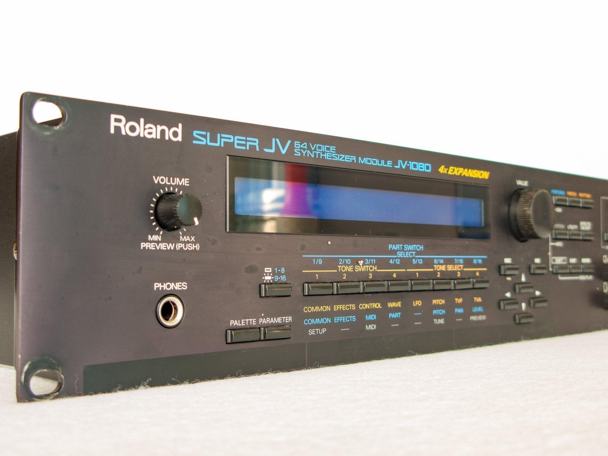 roland jv 1080 super synthesizer rack module electric denim studios. Black Bedroom Furniture Sets. Home Design Ideas