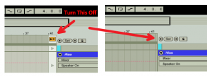 Ableton Switch Back to Arrangement Button