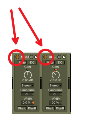 Tip - A good set up may be something like this on the master bus.  Two Utility effects back to back. With a click of a button, you could check your mix in mono and see how it sounds at -10 DB.